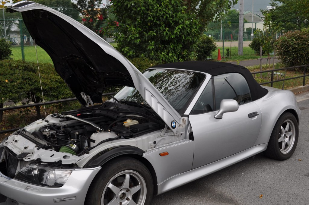 BMW Z3 ABSユニット取り外し方