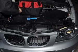 BMW E87 130 ABSランプ修理