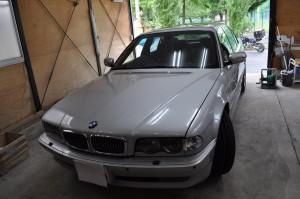 BMW E38 ABS修理