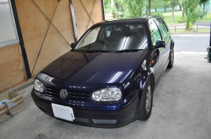 VW ゴルフ ABSユニット修理