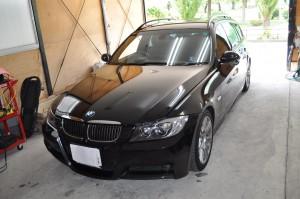 BMW E91 DSCハイドロポンプ交換