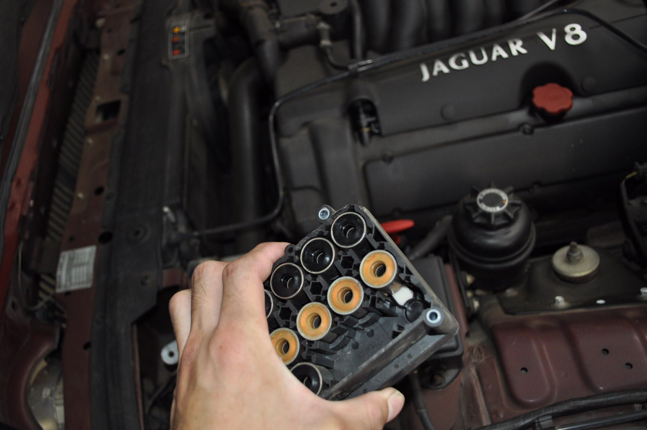ジャガー XJ 308ABSユニット写真