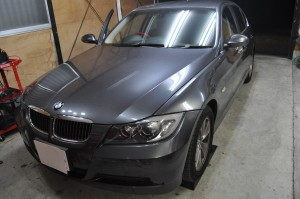 BMW E90 ABS DSCハイドロポンプ交換