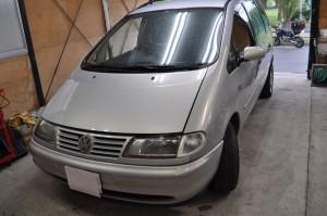 VW シャラン ABS修理