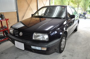 VW ベント ABS修理