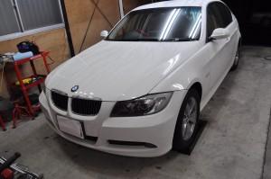 BMW E90 DSCハイドロポンプ交換