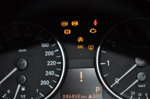 BMW E90 DSC異常ランプ