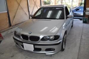 BMW E46後期 ASCランプ点灯修理