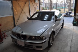 BMW E39 ABS修理