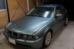 BMW E39 ASCユニット修理