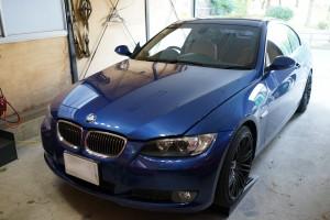 BMW E90 DSC交換作業