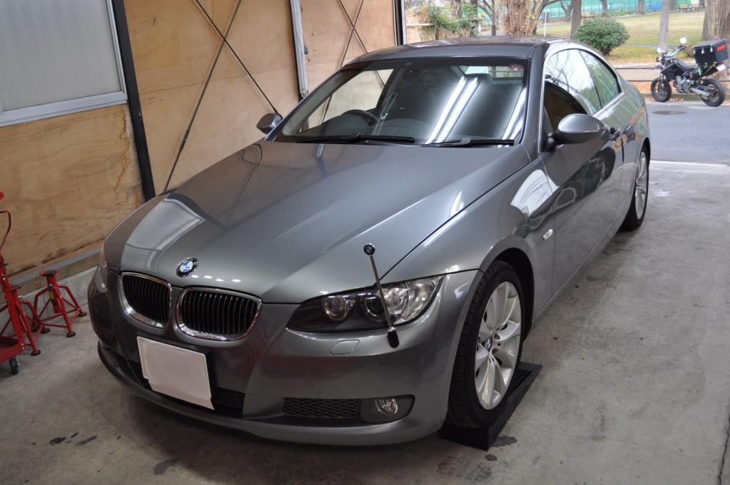 BMW E92 DSCユニット修理