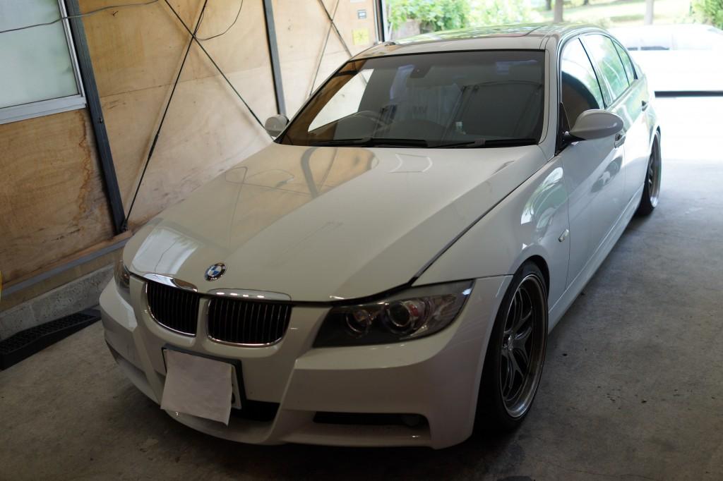 BMW E90 DSCユニット修理 |滋賀県からご来店