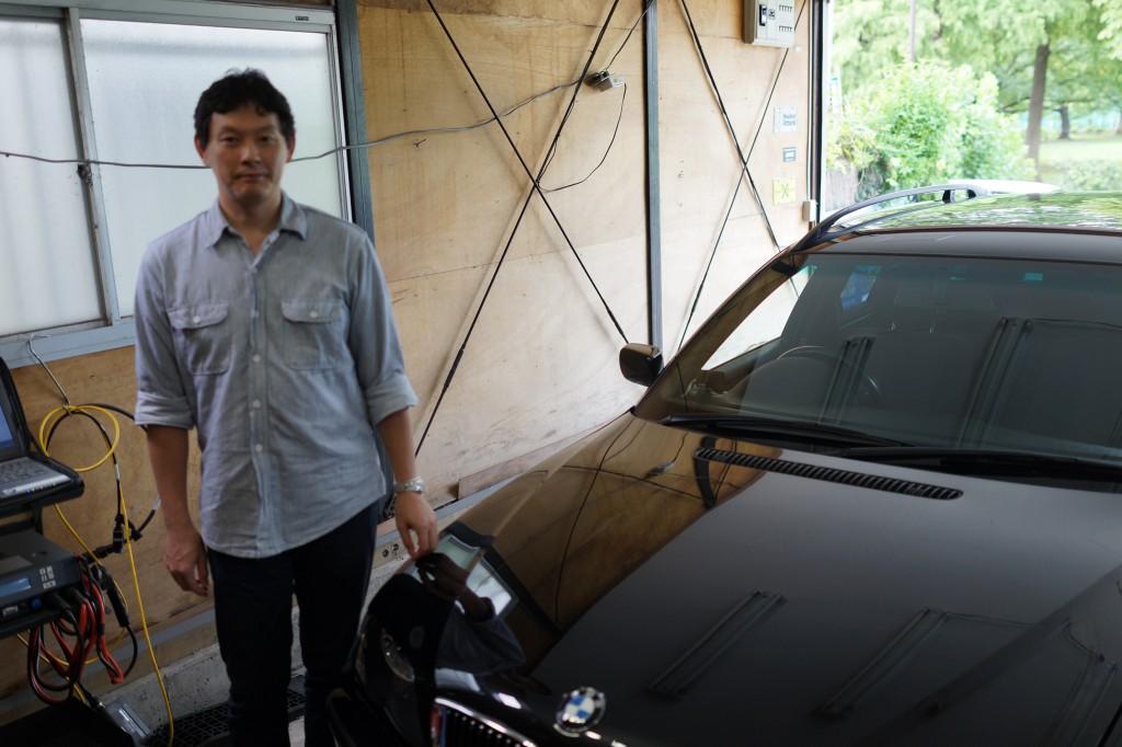 BMW E90 DSC修理、E46ASCユニット修理 スピードセンサー交換も