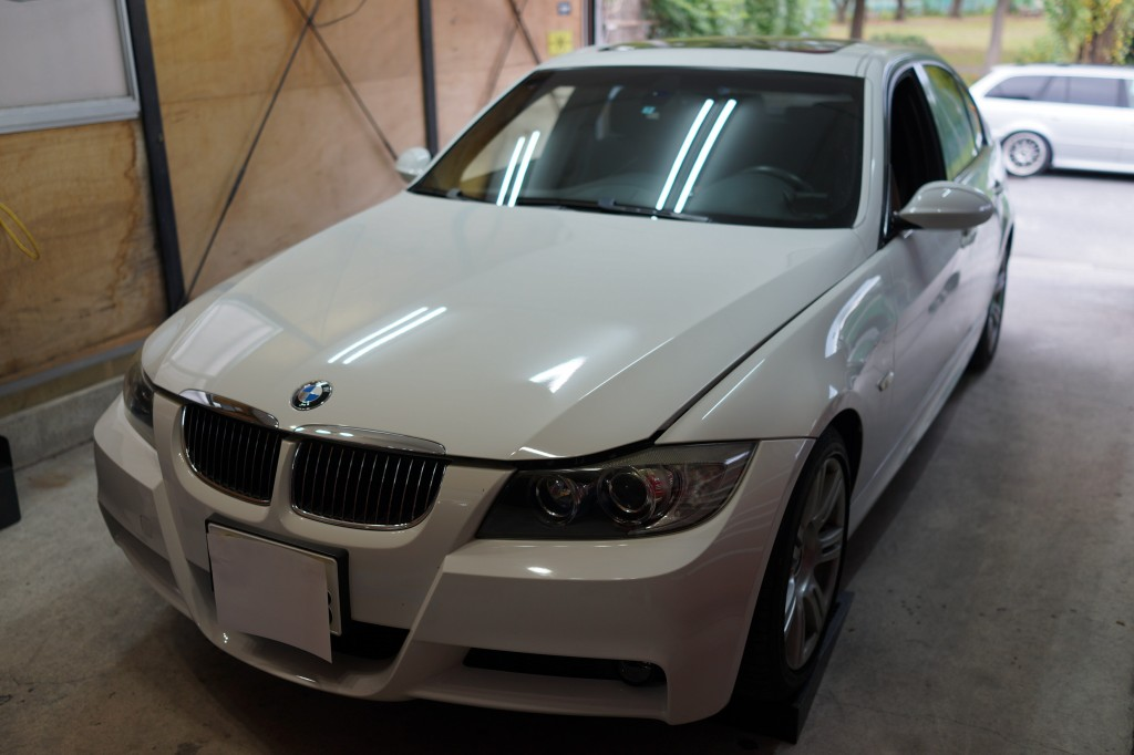 BMW E90 ABSユニット修理