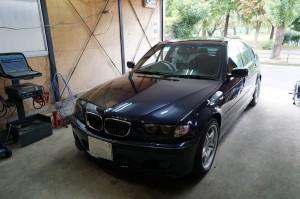 BMW E46後期 ABS修理