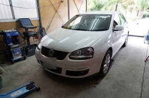 VW ジェッタ ABS修理