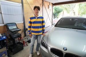 BMW E60 ABS修理