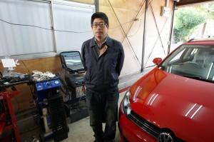 VW ゴルフヴァリアント ABS修理