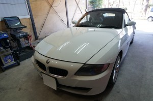 BMW Z4 ABS修理