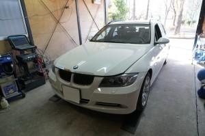 BMW E91 ABS修理