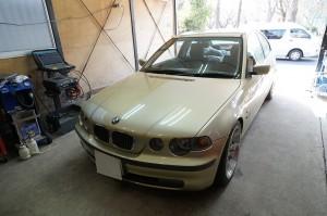 BMW E46 エアバック警告等