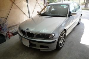 BMW エアバック修理