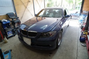 BMW B3 ABS修理