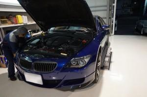 BMW E63 ABS修理