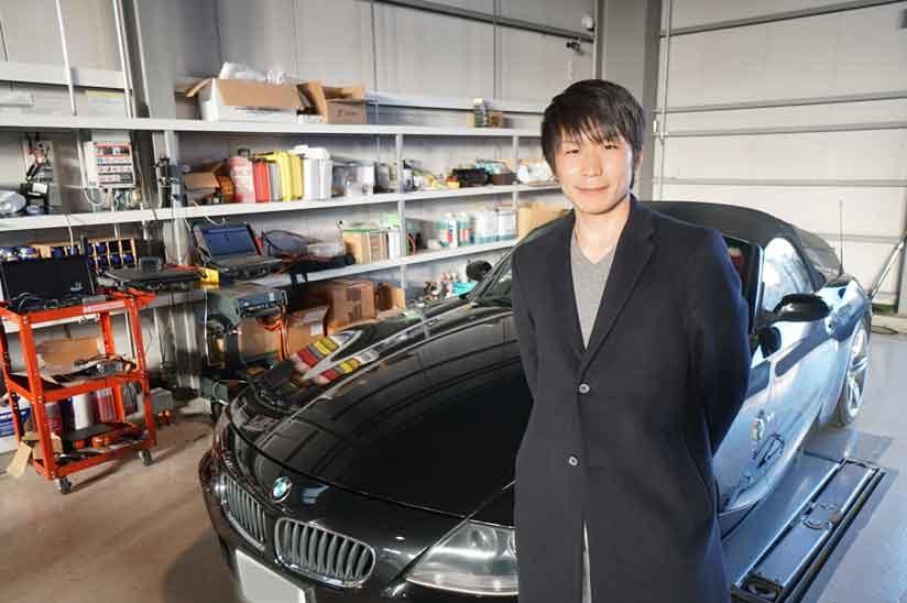 BMW Z4 ABSユニット修理 愛媛県から10時間かけてご来店いただきました!!