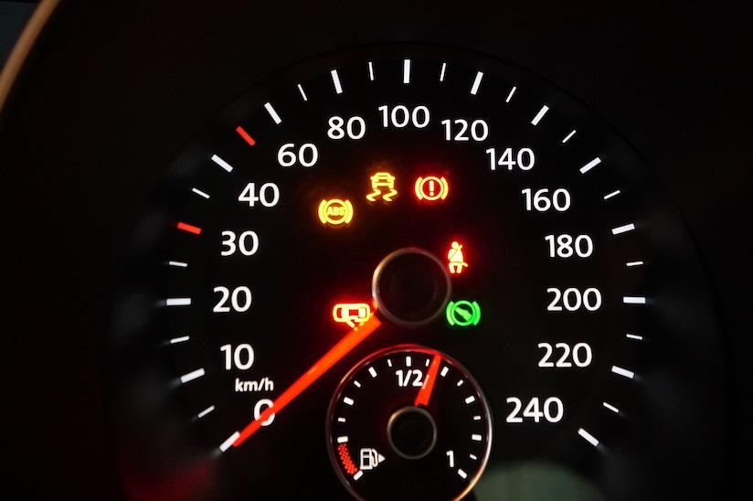 VW ヴァリアントABS警告ランプ