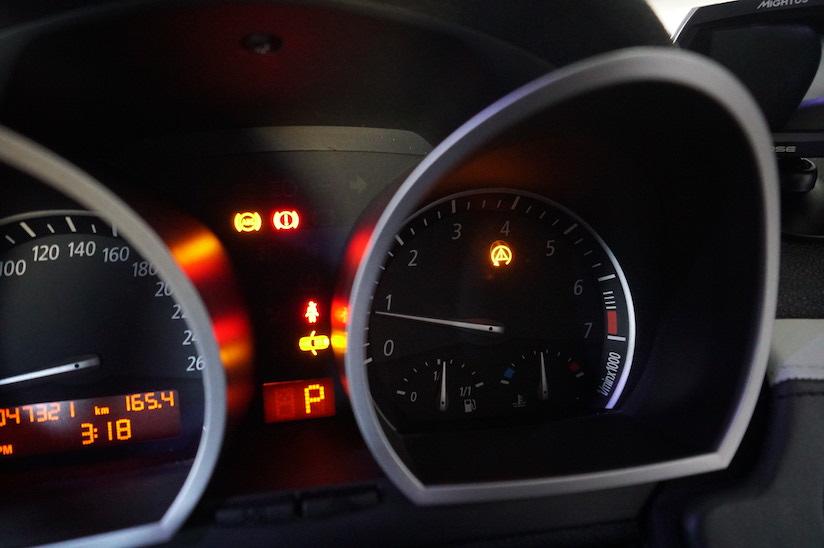 BMW Z4 ABSランプ