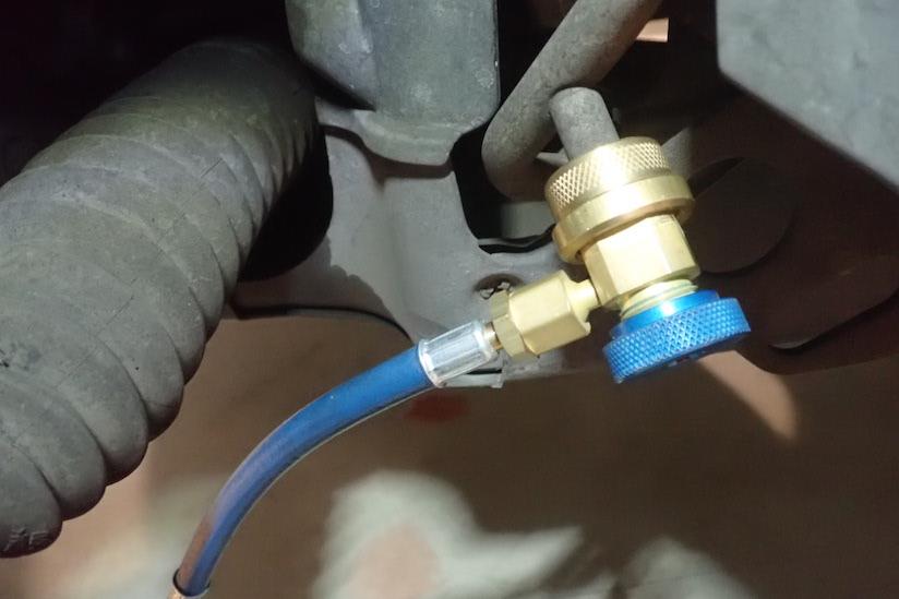 ジャガーSタイプ低圧ポート