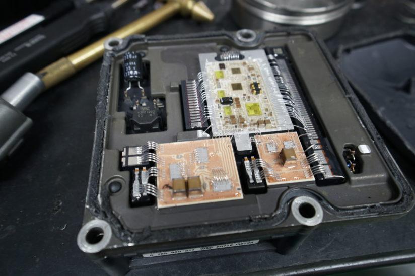 BMW E61 ABS修理