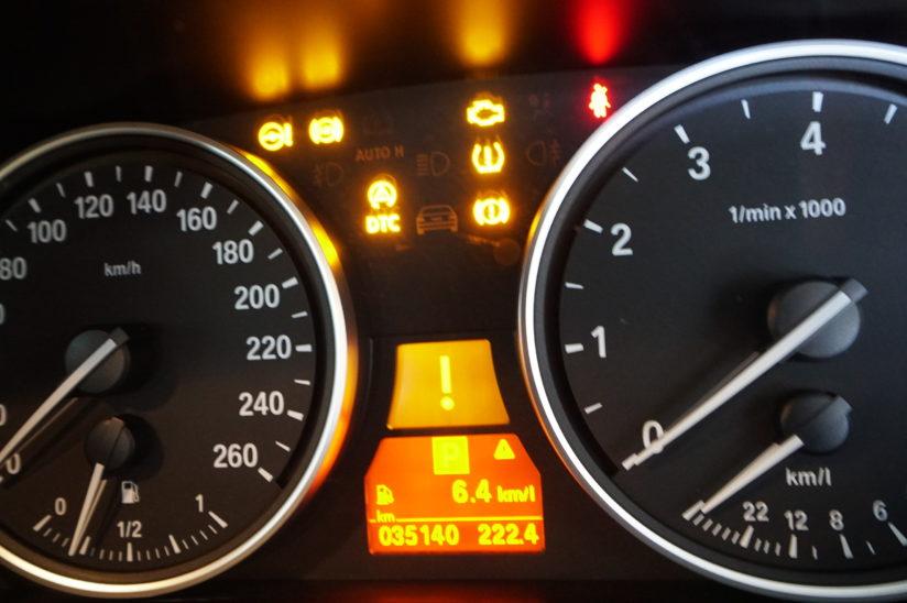 BMW E61 ABS点灯ランプ