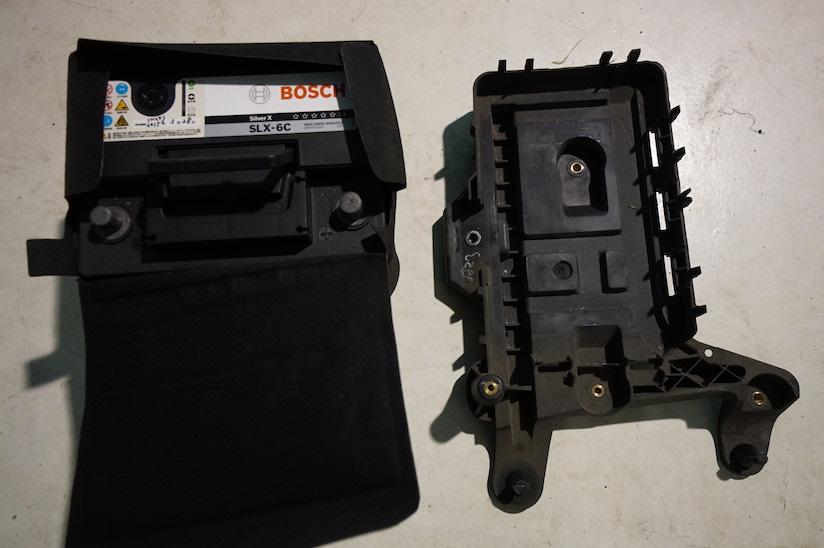 VWヴァリアントABSユニットバッテリー・ステー