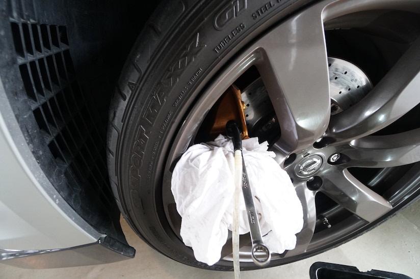 タイヤが取れない場合