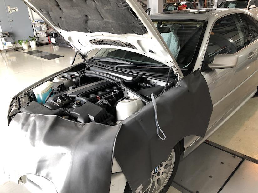 BMW E46前期 ASCユニット修理