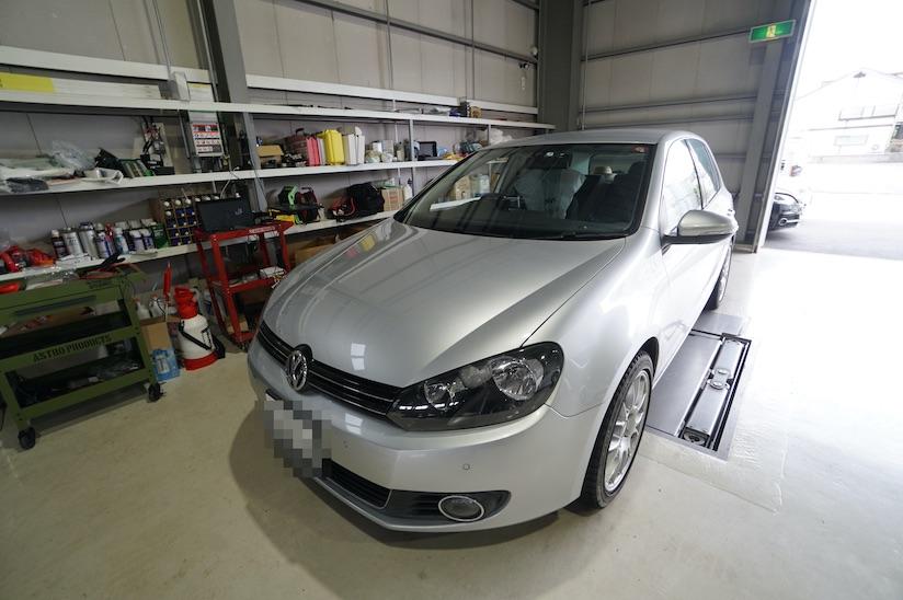 VW ヴァリアントABS修理