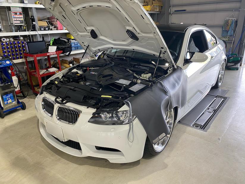BMW M3 ABSランプ