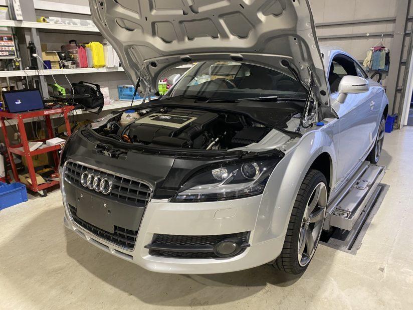 アウディ TT ABS修理