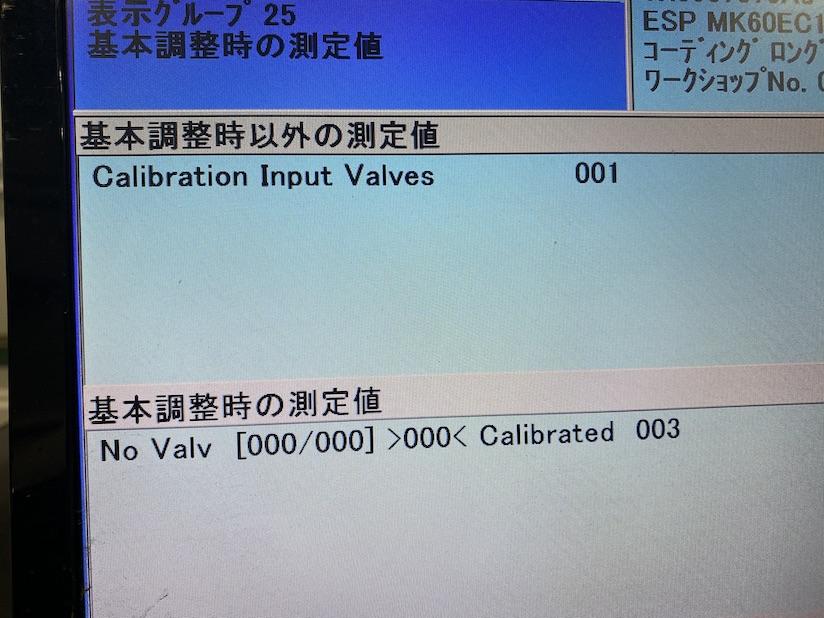 Input valves