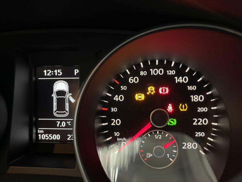 VW 故障ランプ