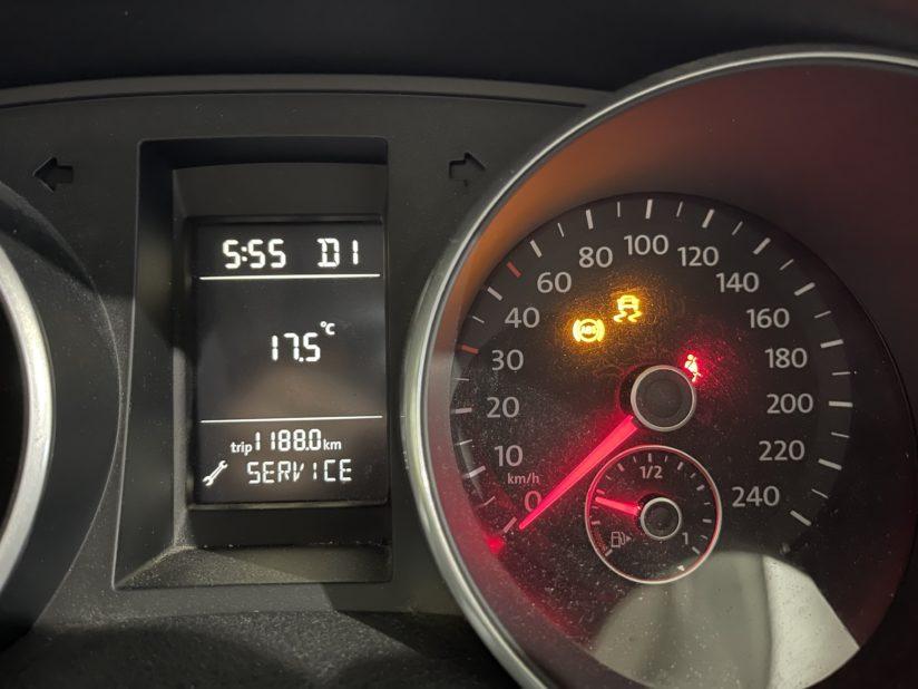 VW ABSランプ